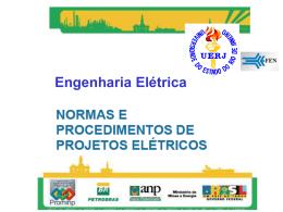 Normas e Procedimentos de Projeto Elétricos