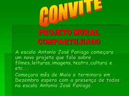 convite projeto