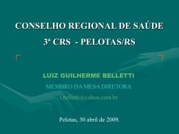 Controle Social na Região-Luiz Guilherme Belletti