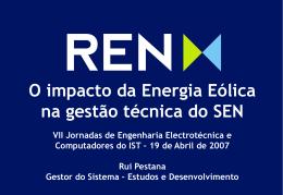 Impacto da Energia Eólica no SEN