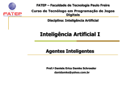 Inteligência Artificial I