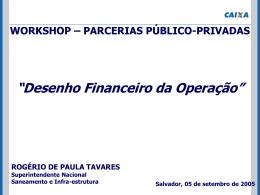 Desenho Financeiro da Operação - Sefaz-BA