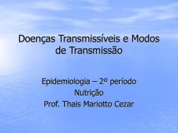 Doenças Transmissíveis - Universidade Castelo Branco
