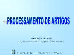 Esterilização: processamento de artigos