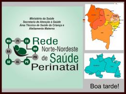 4 Rede Norte-Nordeste de Saúde Perinatal