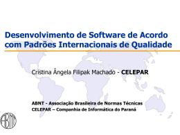 em software - Departamento de Sistemas e Computação
