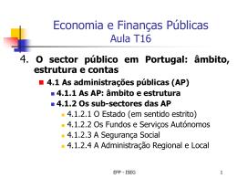 Administrações Públicas