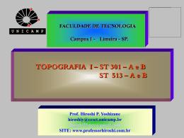 Roteiro do Cálculo Analítico Topográfico