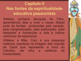 Slide 1 - Colégio Passionista São Paulo da Cruz