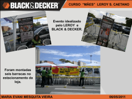 Slide 1 - Black & Decker