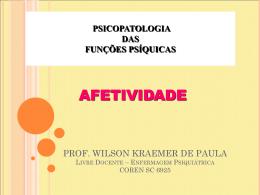 Afetividade - Wilson Kraemer de Paula