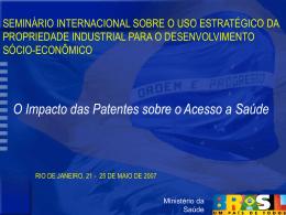 Salud pública,innovación y derechos de propiedad intelectual