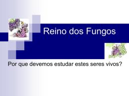 Reino dos Fungos - Colégio Candido Portinari