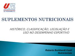 SUPLEMENTOS NUTRICIONAIS – editadoROBERTA