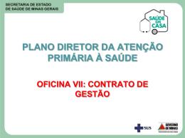 Os Contratos de Gestão - Prefeitura Municipal de Uberaba