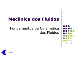 ETF-Cinemática dos Fluidos