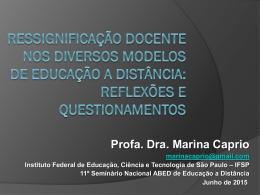 Marina Caprio - Instituto Federal de São Paulo - IFSP