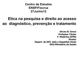 Conflitos de interesse na pesquia clinica-emancipação