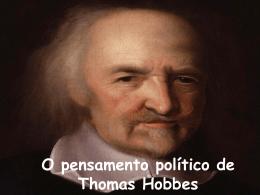 thomas hobbes 2° A FILOSOFIA