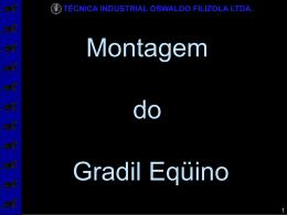 gradil_equino - Técnica Industrial Oswaldo Filizola Ltda