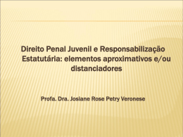 Palestra: Profa. Dra. Josiane Rose Petry Veronese - CAI