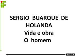 SERGIO BUARQUE DE HOLANDA