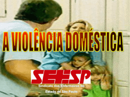 Violência Sexual