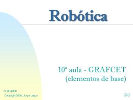 10ª Aula - Página de Automação e Robótica