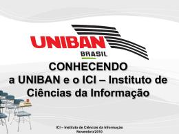 ICI Instituto de Ciências da Informação