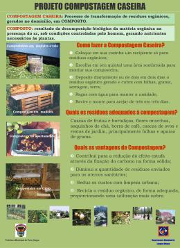 Composteira - Prefeitura Municipal de Porto Alegre