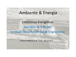 Estatísticas energéticas