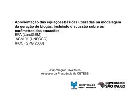 Metodologia da EPA e comparações ( 427 kb)