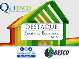 Prêmio Destaque Eficiência Energética