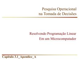 Manual LINDO