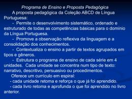 ABCD - ESCOLA ESTADUAL IRMAN RIBEIRO