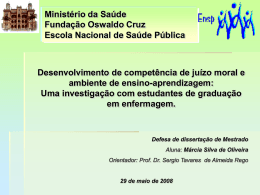 Slide 1 - Fiocruz