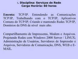 TCP-IP - ContilNet