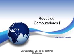 Prof. Mateus Raeder