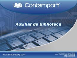 Curso Auxiliar de Biblioteca