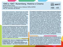 1945 e 1947: Nuremberg, História e Cinema Murillo