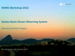 Santos Basin Ocean Circulation
