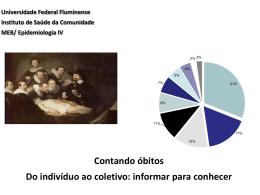 Conceitos em Vigilância Epidemiológica - EPI uff