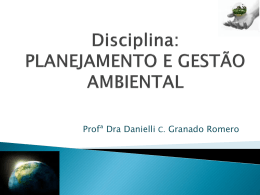 Slides Crise Ambiental Global