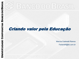 Universidade Banco do Brasil