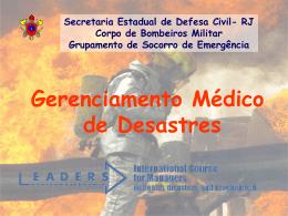 Gerenciamento de Desastres Princípios Gerais
