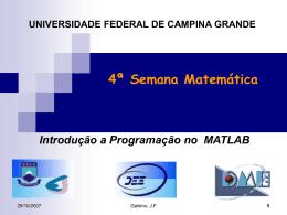 A * B - Universidade Federal de Campina Grande