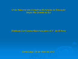 caravana cerro largo - uncme-rs