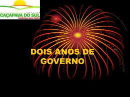 Estado do Rio Grande do Sul PREFEITURA MUNICIPAL DE