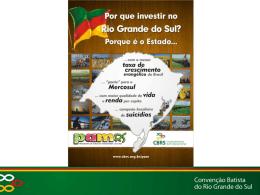 Slide 1 - Convenção Batista do Rio Grande do Sul