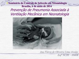 Prevenção de Pneumonia Associada à
